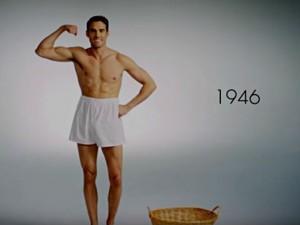Homem No Espelho -  Vídeo 100 Anos de Underwear Masculino