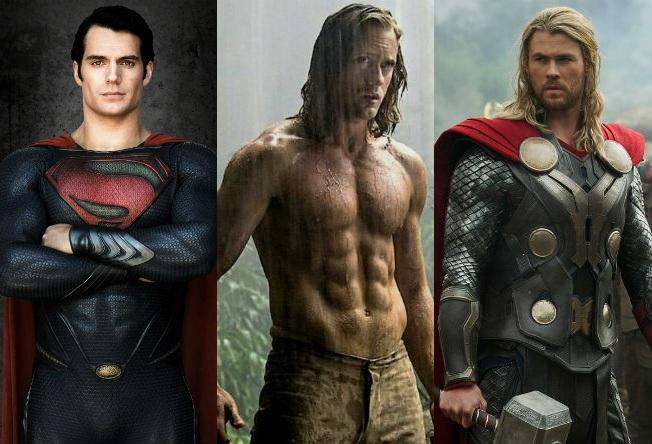 Os treinos monstros dos super-heróis do cinema