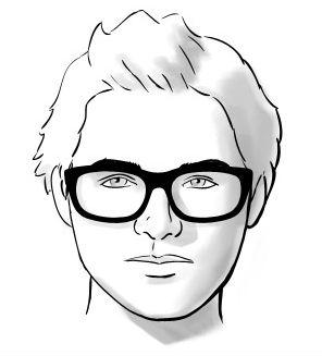 Homem-No-Espelho-Óculos-e-formatos-de-rosto-Redondo