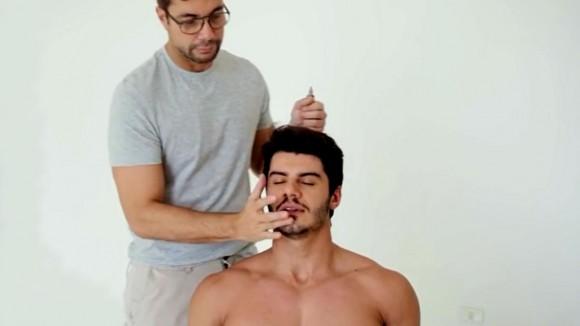 Homem No Espelho - Fernando Torquetto - Maquiagem masculina