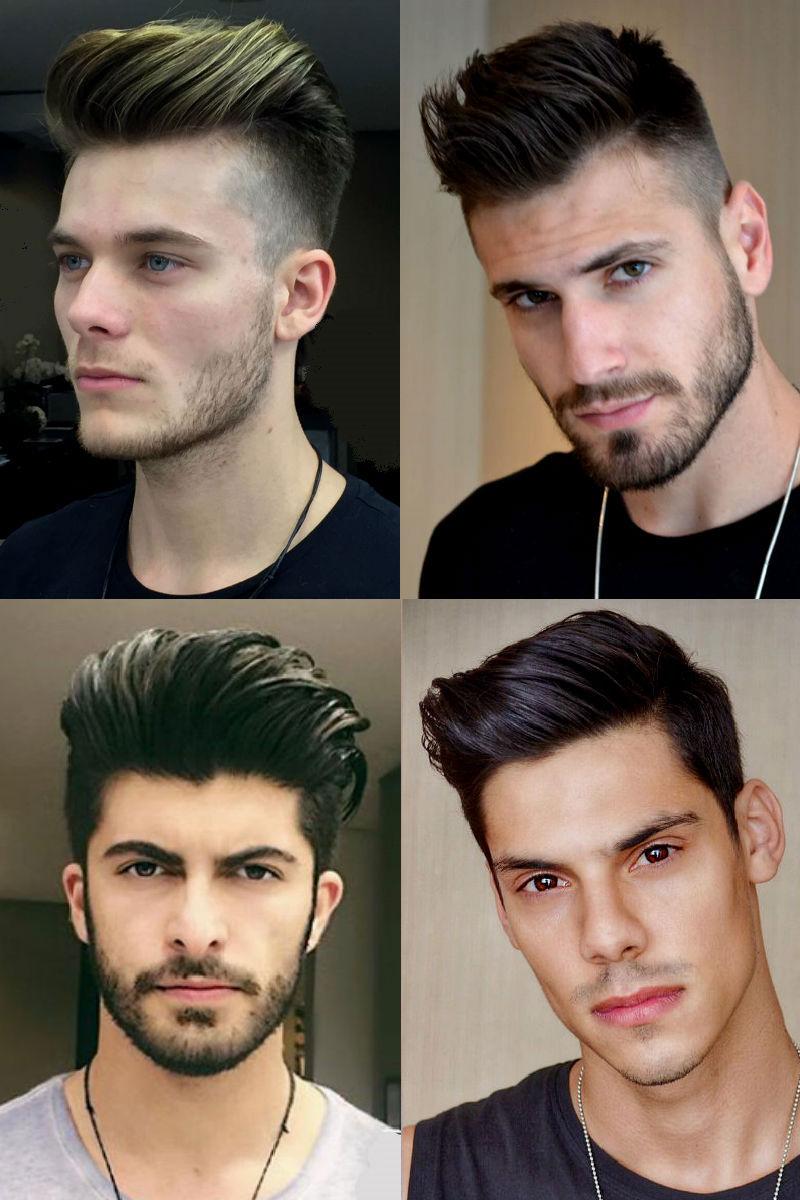 Razões de uma perda do cabelo do jovem