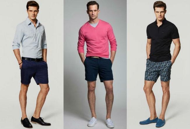 homem-no-espelho-moda-casual-bermudas-camisetas