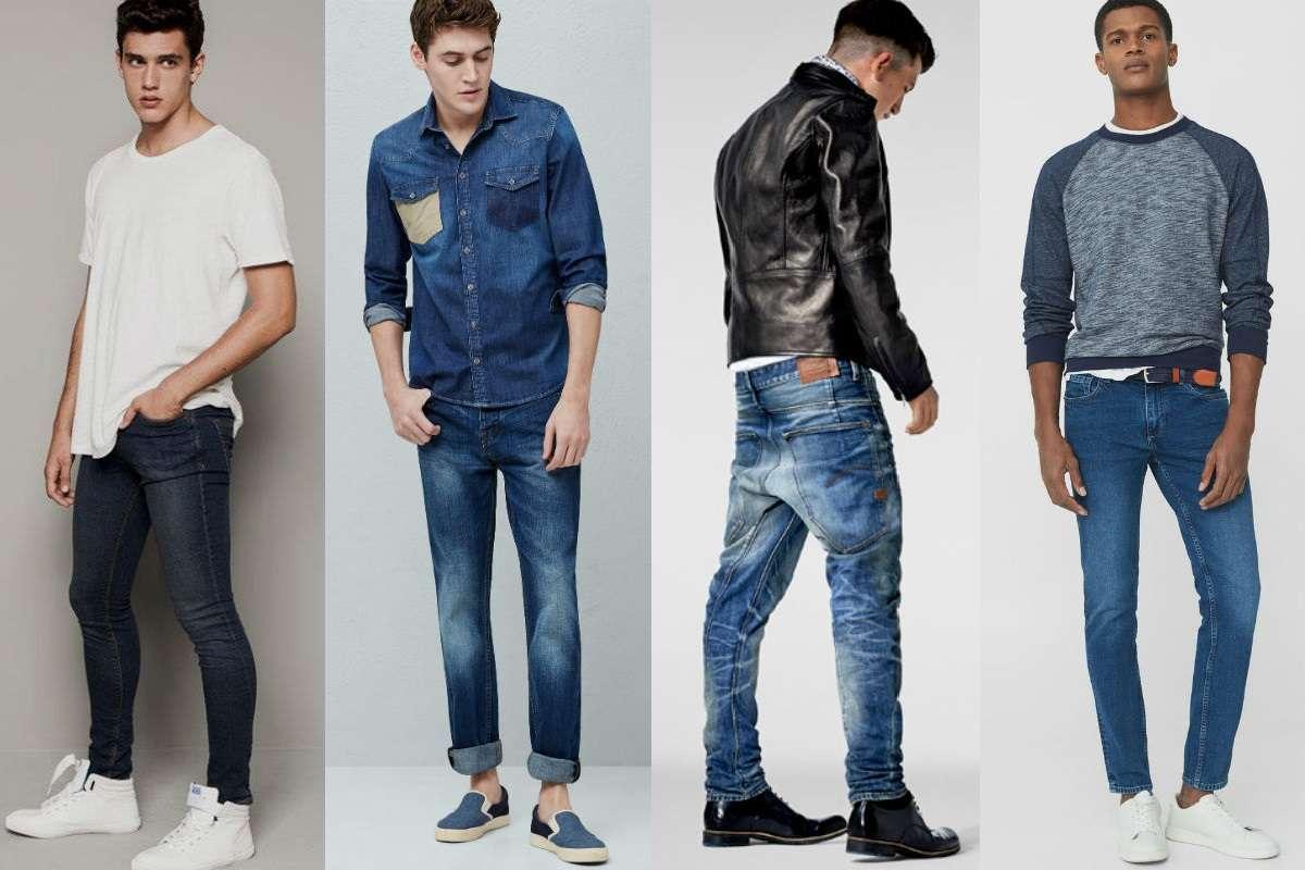 Homem No Espelho - Como escolher o modelo de jeans ideal para seu corpo