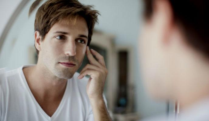 Homem No Espelho - como cuidar da pele, do cabelo e do corpo