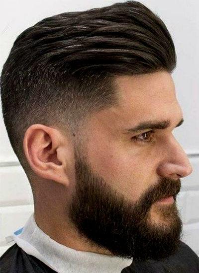 Cortes de cabelo masculinos para quem tem entradas - Homem No Espelho