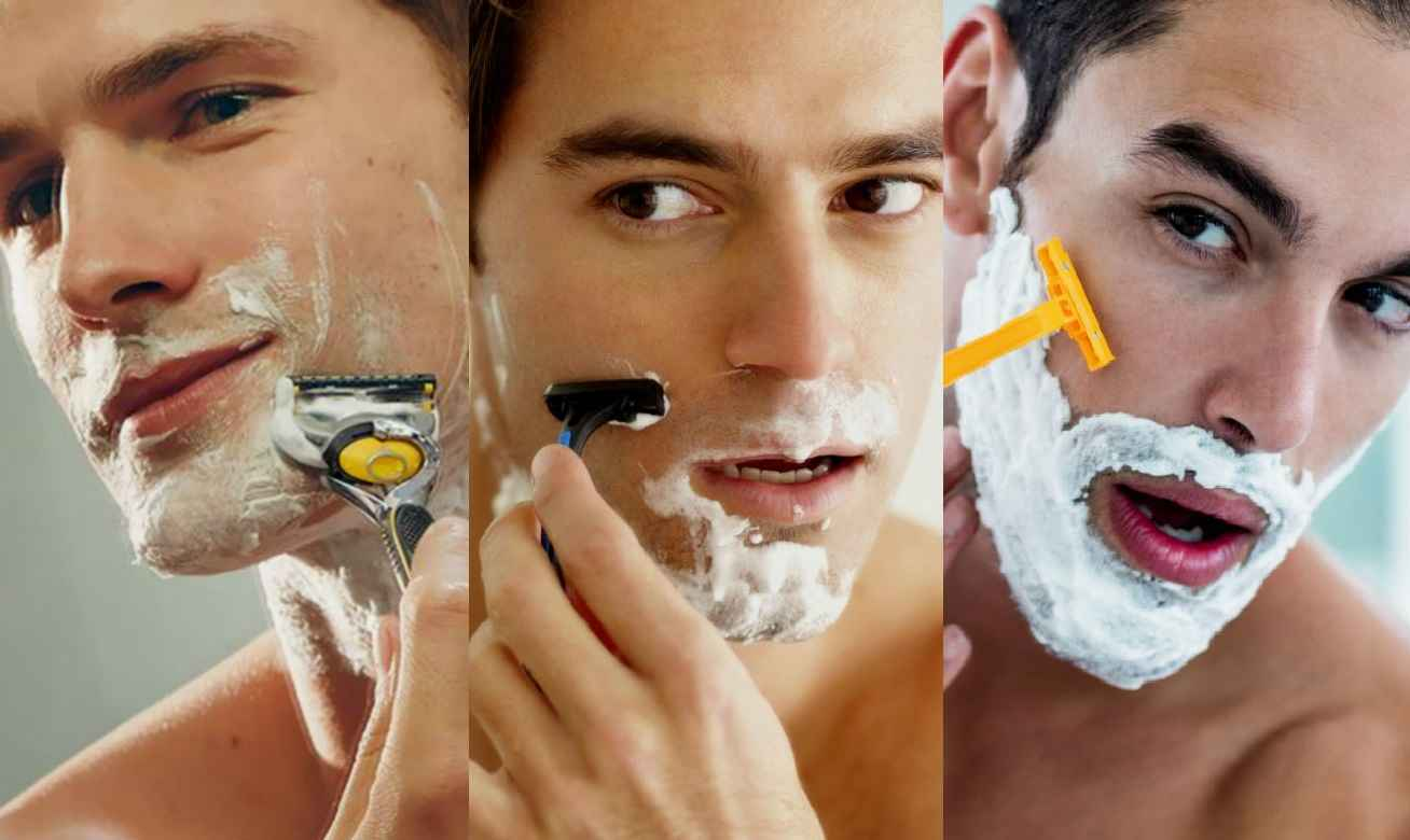 Homem No Espelho - Como se barbear do jeito certo - barba rala, média, dura