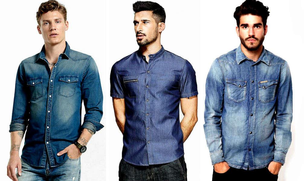 Homem No Espelho - Como usar camisa jeans
