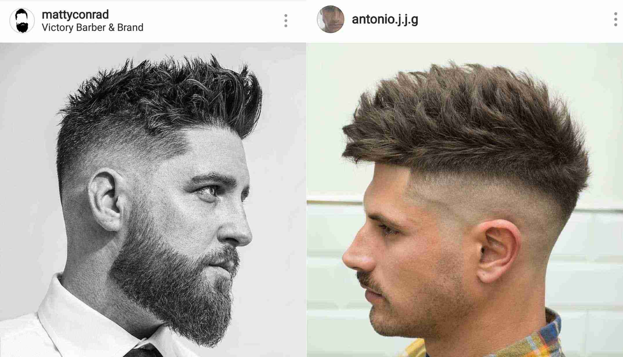 Homem No Espelho - Cortes de cabelo 2018: as tendências do Instagram