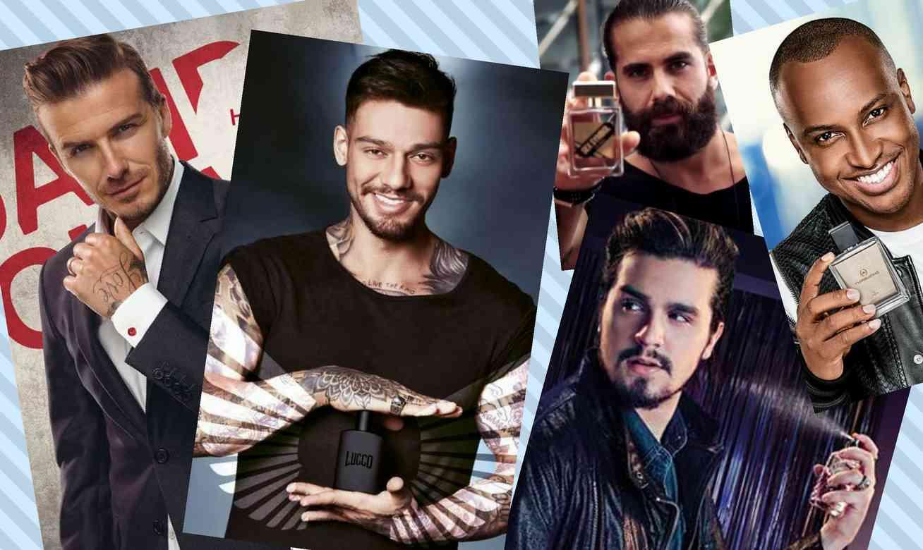 Homem No Espelho - Perfumes assinados por famosos