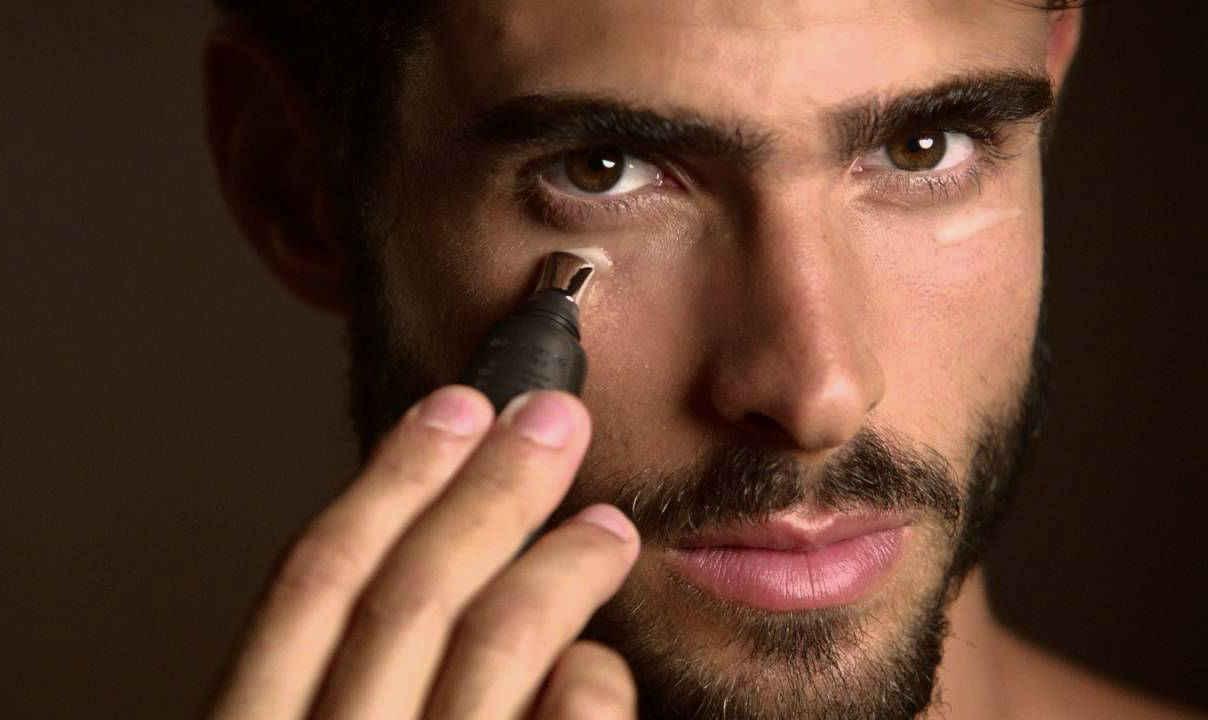 Homem No Espelho - Como disfarçar, corrigir e esconder imperfeições de pele, espinhas, manchas e olheiras