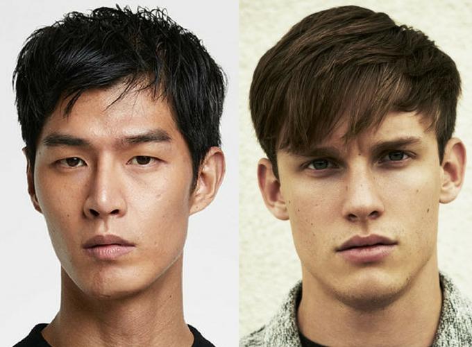 Homem No Espelho - cortes de cabelo masculinos para cabelo liso