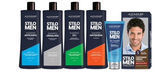 Homem No Espelho - produtos para cabelo Stilo Men Alfaparf