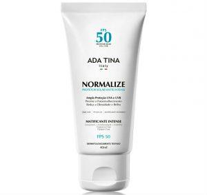 Ada Tina Normaliza protetor solar contra oleosidade e brilho do rosto