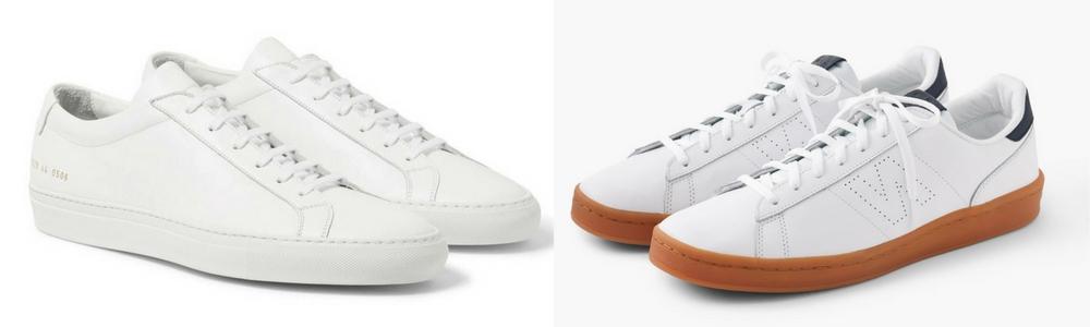 Homem No Espelho - Os sapatos que todo homem deve ter no guarda-roupa-tênis branco