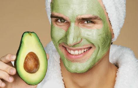 Homem No Espelho - Receitas caseiras para tratar a pele - máscara de abacate