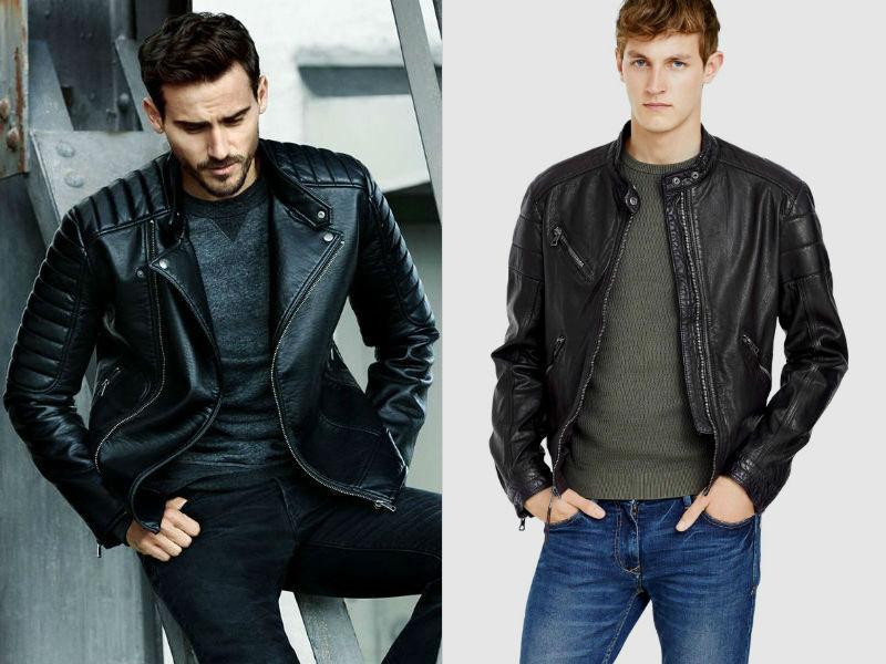 Homem No Espelho - Como usar jaqueta de couro