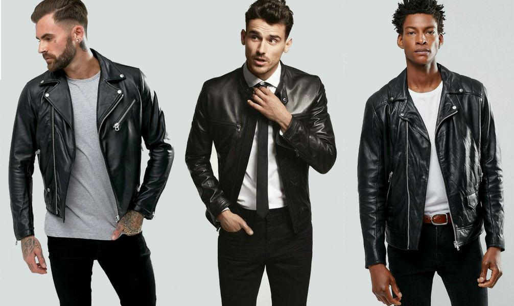 Homem No Espelho - Como usar jaqueta de couro-moda masculina