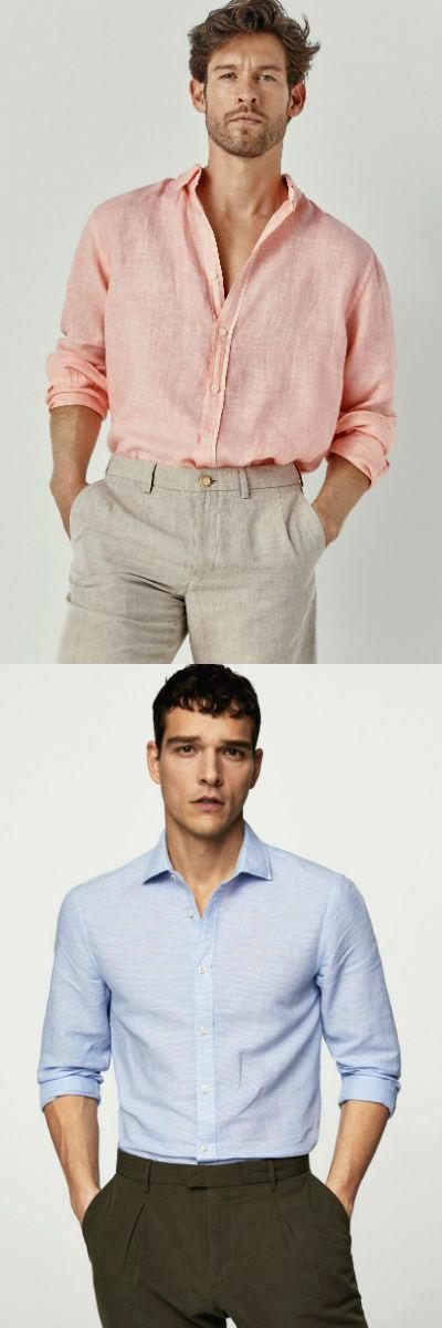 Homem No Espelho - Tipos de camisas masculinas - camisa de linho