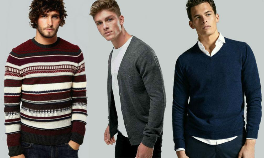 Homem No Espelho - Tipos de malhas masculinas - suéter - cardigã - pulôver