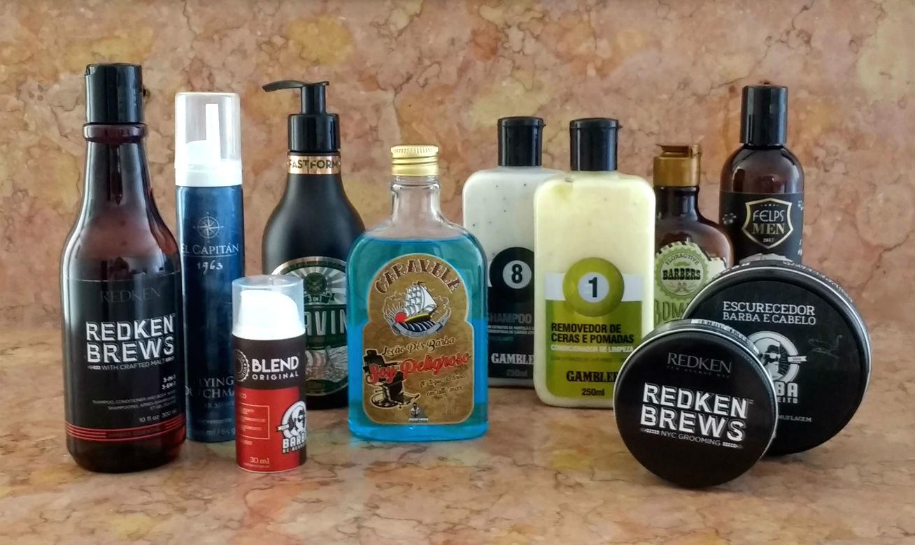 Homem No Espelho - Novos produtos para barba e cabelo masculino