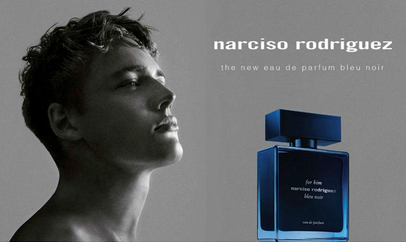 Homem No Espelho - Perfume Narciso Rodriguez Bleu Noir EDP - perfumes masculinos lançamentos 2018