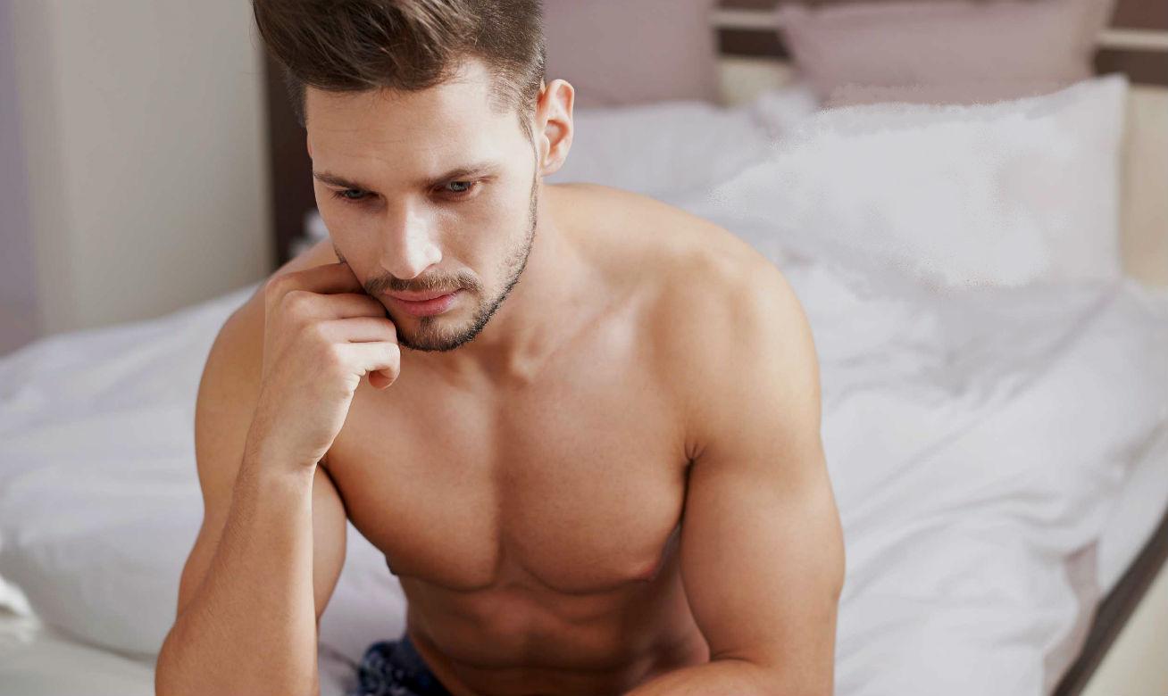 Homem No Espelho - Abstinência sexual - falta de sexo