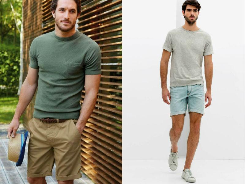 bf78f842f Guarda-roupa do homem casual  Camisa jeans