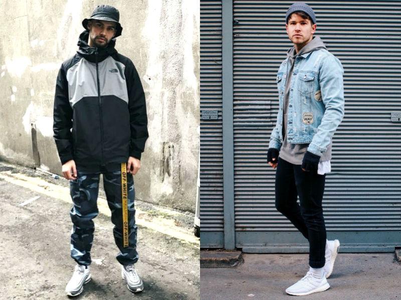 O street style virou uma categoria e os estilistas das marcas masculinas  mantêm olhos bem abertos para os lançadores de moda f755a74eaf6