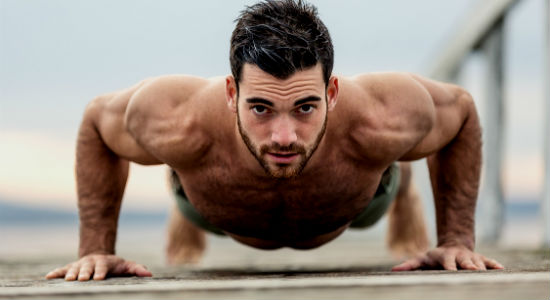 Homem No Espelho - Treino com o peso do corpo - calistenia