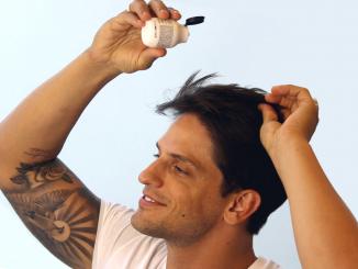 Homem No Espelho - Como usar cerá em pó - cabelo masculino
