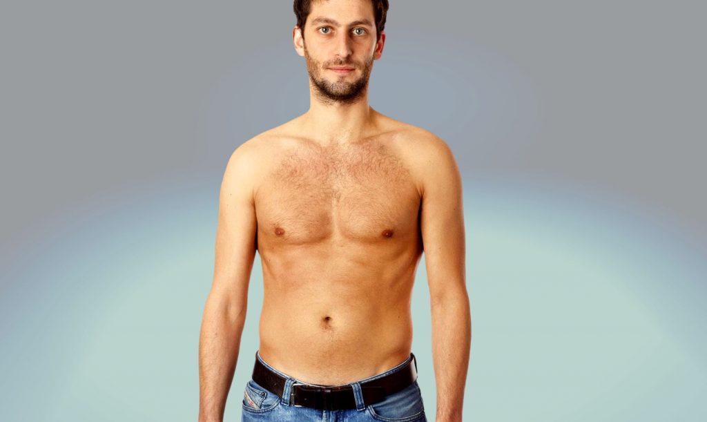 Homem No Espelho - Falso magro - dieta - exercícios