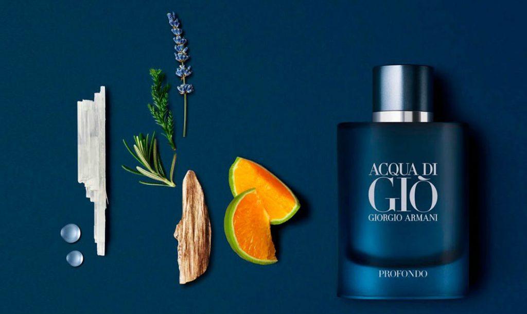 Homem No Espelho - perfume Acqua Di Giò Profondo
