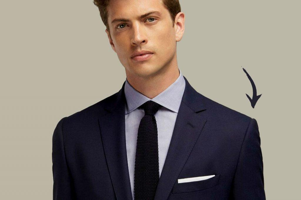 Homem No Espelho - Os tamanhos certos para a roupa cair bem no corpo - largura dos ombros