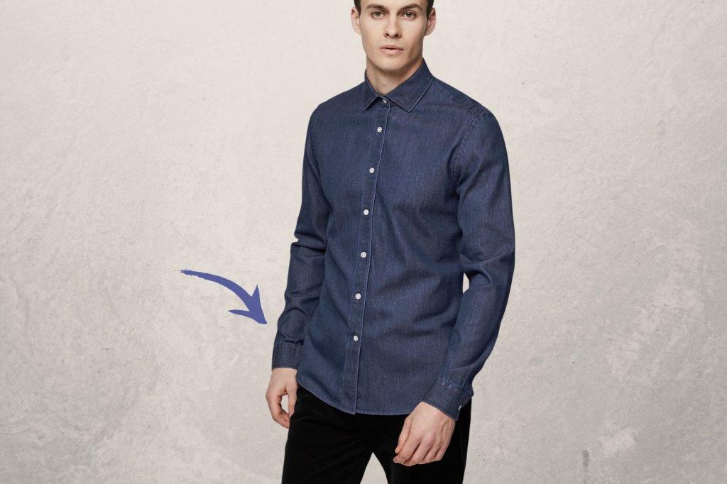 Homem No Espelho - Os tamanhos certos para a roupa cair bem no corpo - camisa para fora da calça