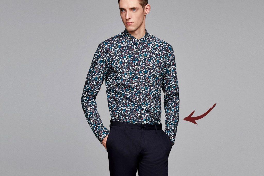 Homem No Espelho - Os tamanhos certos para a roupa cair bem no corpo - camisa para dentro da calça