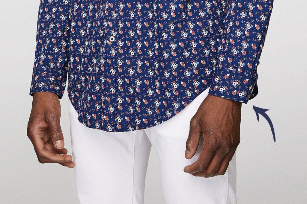 Homem No Espelho - Os tamanhos certos para a roupa cair bem no corpo - comprimento da manga da camisa