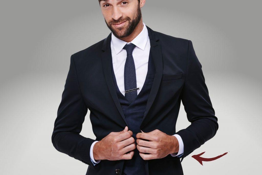 Homem No Espelho - Os tamanhos certos para a roupa cair bem no corpo - comprimento da manga do paletó