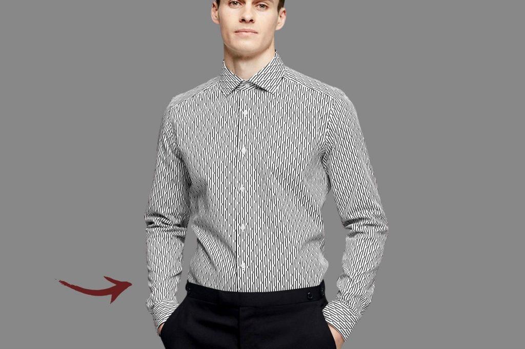 Homem No Espelho - Os tamanhos certos para a roupa cair bem no corpo - altura da cintura da calça