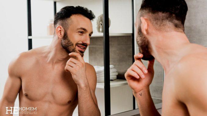 Homem No Espelho - 10 cuidados com a aparência para começar no Ano Novo