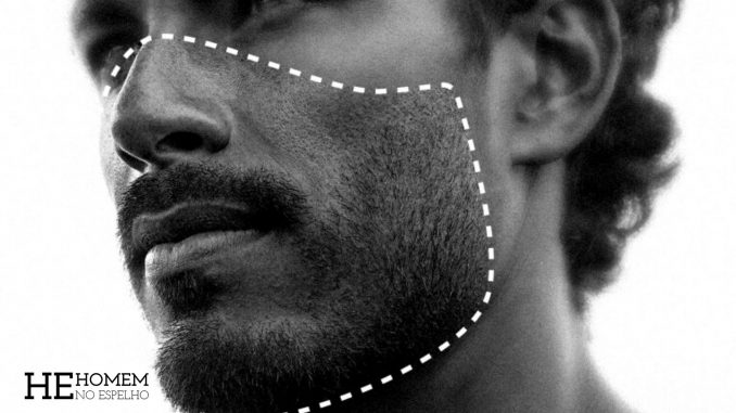 Homem No Espelho - Acne causada pela máscara